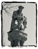 The Good Samaritan on the Ether Monument - Boston Public Garden